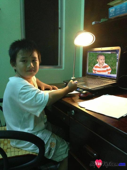 Văn Minh An(10-11-2004)_con trai lớn của Văn Quý Minh Tuấn